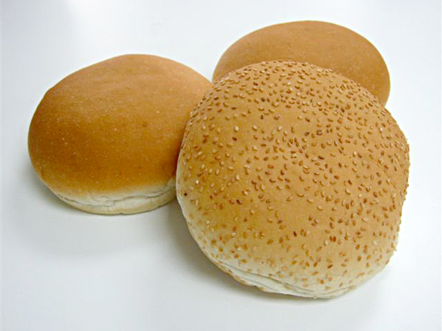 ... hamburger bun and gourmet buns) and plain or topped with sesame seeds