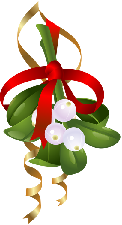 mistletoe-and-ribbon